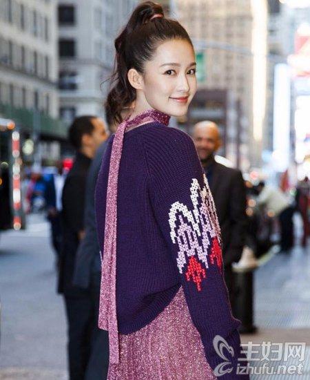 资讯【杨幂lob发型】2016纽约时装周明星发型PK谁最美
